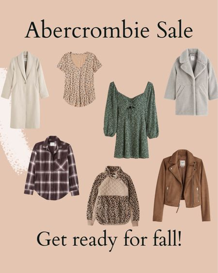 Abercrombie sale picks, coats, jackets, fall   #LTKunder100 #LTKSeasonal #LTKsalealert