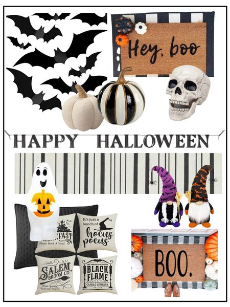 Halloween decor          Halloween / halloween decor / halloween decorations / home decor / fall decor / target style / amazon home / amazon finds / etsy / walmart finds #ltkseasonal doormat / front porch / pillow covers   #LTKHoliday #LTKunder50 #LTKhome