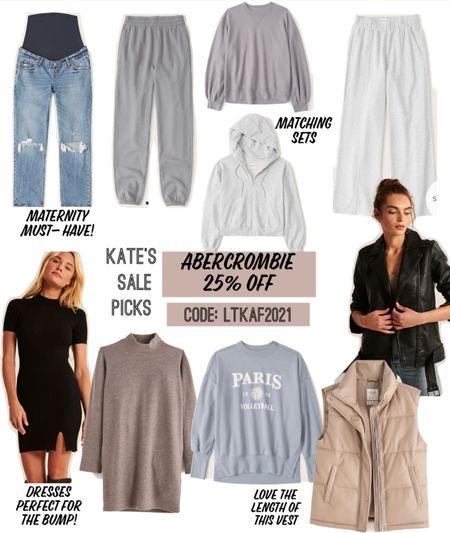 Abercrombie sale! Sharing my picks! Love these maternity jeans   #LTKsalealert #LTKSale #LTKunder100