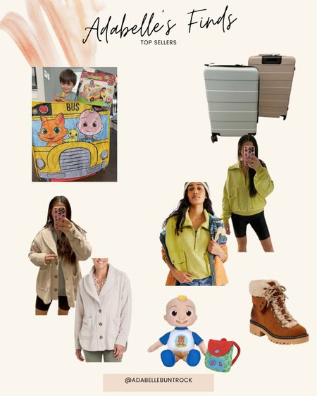 Cocomelon toys target suitcase luggage free people dupe jacket   #LTKstyletip #LTKunder50 #LTKunder100