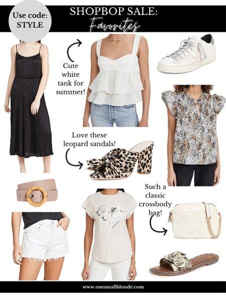 shopbop SALE favorites! use code STYLE   #LTKunder100 #LTKsalealert #LTKshoecrush