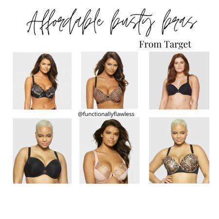 Affordable busty bras from target, Large bust bras, large cup size   #LTKstyletip #LTKcurves #LTKunder50