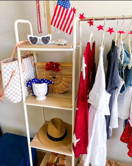 Fourth of July outfit ideas          Fourth of July outfit ideas, Fourth of July, Walmart finds, amazon fashion, amazon finds, target style, target finds #ltkshoecrush #ltkswim #ltkfit red white and blue outfit ideas, bathing suit, high waist bikini, swimsuit, sunglasses, patriotic outfit #ltkitbag  #LTKstyletip #LTKunder50 #LTKSeasonal