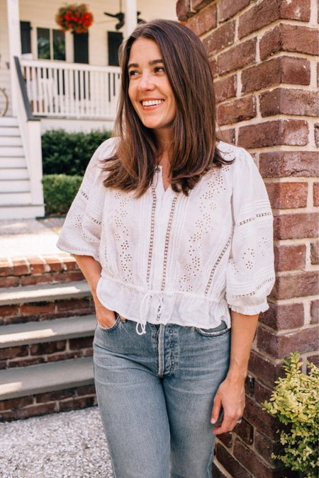 My favorite nursing friendly tops and dresses on HAF today! Finding stylish clothes that work well for nursing can be tricky, but I always say that you have to dress for yourself, too! I love that all of these pieces make it easy to breastfeed but still feel great to wear. http://liketk.it/3edth #liketkit @liketoknow.it #LTKunder100 #LTKstyletip