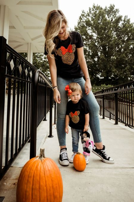 Mommy & Me Matching Halloween Shirts