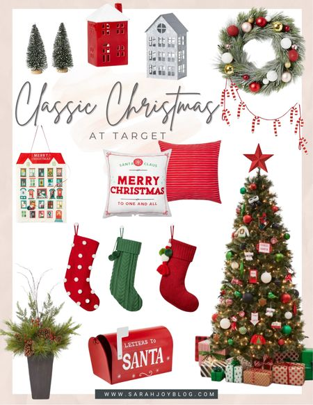 Christmas decor from Target