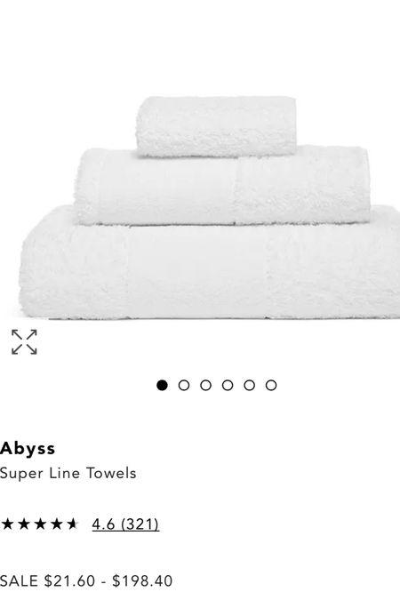 Best towels!🤍  #LTKSale