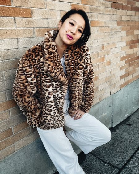 This leopard faux fur coat is a statement everyone will swoon over!   Plus it's on super sale!  http://liketk.it/38pcU #liketkit @liketoknow.it #LTKsalealert