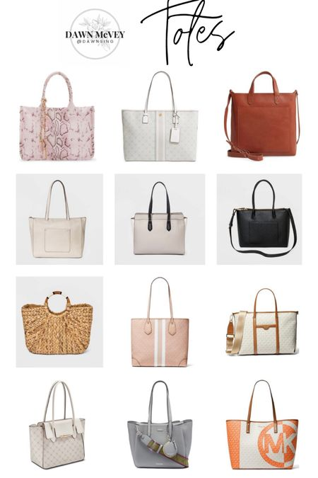 Purse-palooza handbag round-up! 😂 Linking up lots of cute bags just in time for Mother's Day gift-giving or wish-listing! Hope you find something to love! This is my tote round-up! Lots of different color options on many of these bags so be sure to over to shop the bags to see any other color options available! #purses #handbags  #liketkit @liketoknow.it http://liketk.it/3dLt2   Shop my daily looks by following me on the LIKEtoKNOW.it shopping app