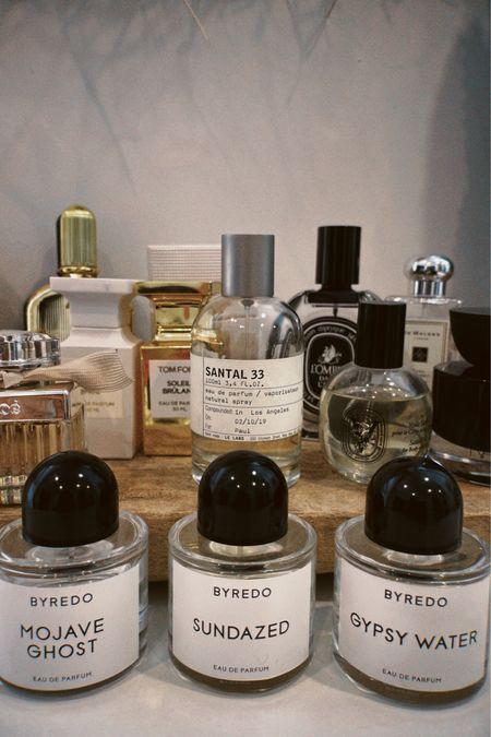 Fragrances I love