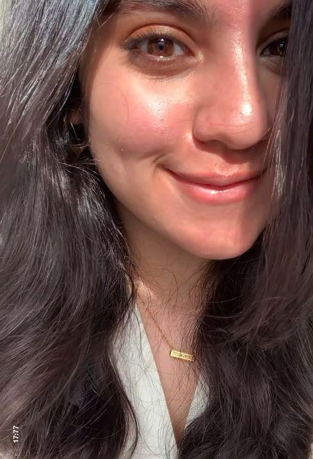 My go-to spring makeup – bronzy, glowy, dewy ✨🤍  #LTKbeauty #LTKSeasonal #LTKSpringSale