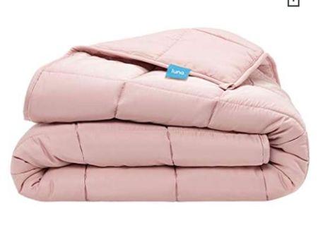 Trouble sleeping? Try a Luna Weighted blanket. #weightedblanket  #blankets  #LTKHoliday #LTKSeasonal #LTKGiftGuide
