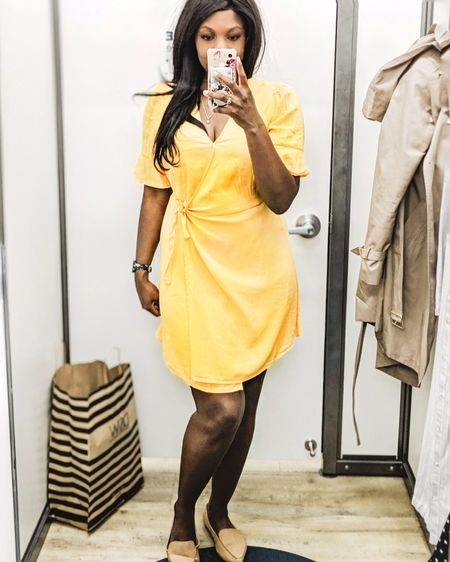 Thought I'd have a bit of a try-on session in Old Navy after I realized I hadn't shopped here in over a year! So many cute casual and work dresses that are great for summer ☀️ .  #ltkunder50 #ltksalealert #workwear #dress #summer http://liketk.it/2BCdf @liketoknow.it #liketkit