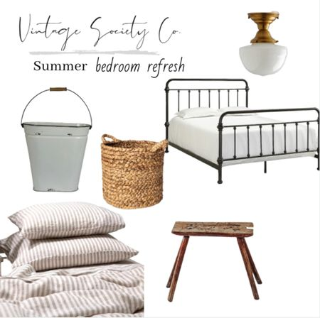 Give your master bedroom a facelift with these summer bedroom refresh finds.   #LTKhome