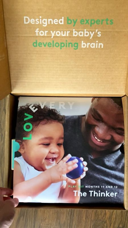 A look inside a play kit subscription box for 2-3 months of play! Montessori toys for baby, Montessori toys for toddlers, toy subscription box, baby subscription box, developmental toys   #LTKkids #LTKunder100 #LTKbaby