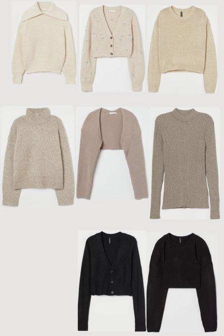 H&M Labor Day Sale 20% off everything, all under $50. Women's fall fashion. Sweaters. Cardigans.  #LTKunder50 #LTKSeasonal #LTKsalealert