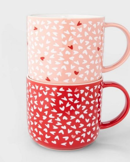 Running to Target to get these adorable Valentine coffee mugs! http://liketk.it/35orm #liketkit @liketoknow.it