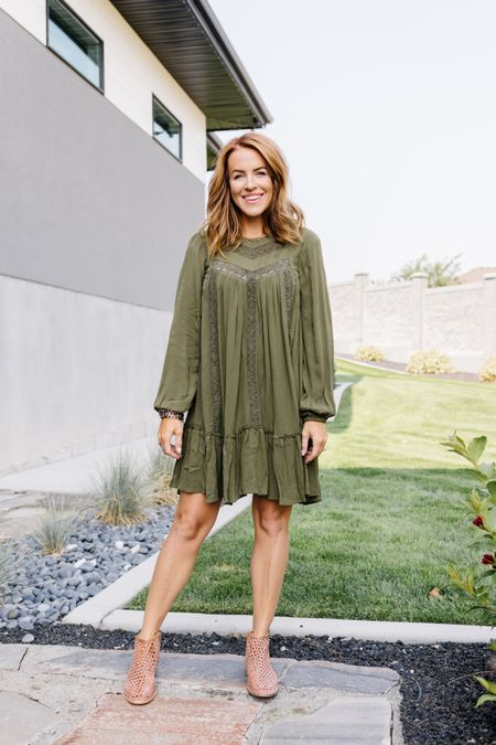 You guys!! I've got some more winners from @walmartfashion to share with ya again!! They keep getting better and better. I shared this dress and some others I found on the blog and in stories. They ALL come in XS-XXXL 👏🏻 👏🏻 @walmart #sponsored www.TaraThueson.com  #LTKbacktoschool #LTKsalealert #LTKSeasonal