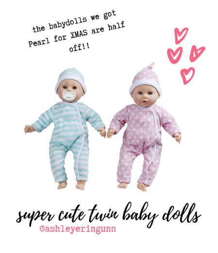 These Melissa and Doug dolls are soooo cute in person. I know Pearl is going to love them. They're deeply discounted right now!   #LTKgiftspo #LTKsalealert #LTKbaby