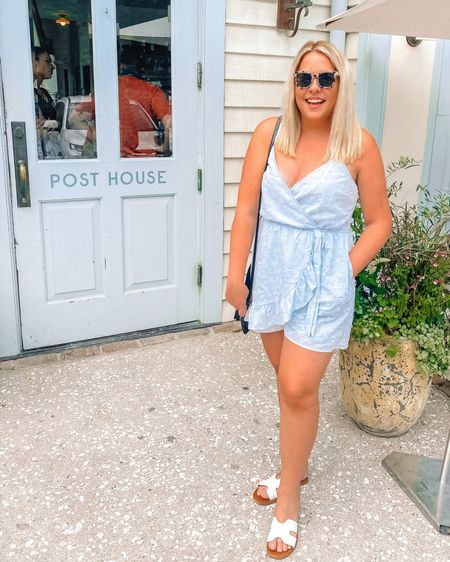 Such a cute romper that would be perfect for July 4th, from Target! 4th of July Outfit, Red, White, Blue Outfits, Summer Outfits, Target Style @liketoknow.it #liketkit #LTKstyletip #LTKSeasonal #competition #LTKunder50 http://liketk.it/3iyaY