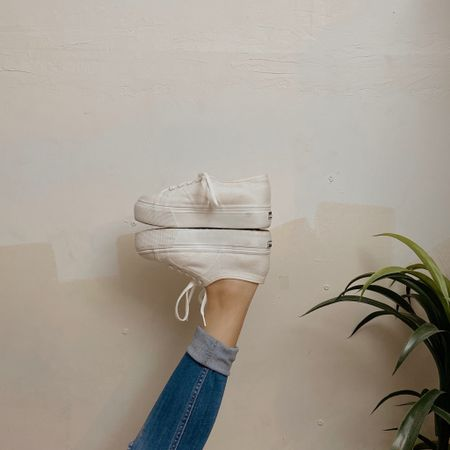 http://liketk.it/2QZu2 #liketkit @liketoknow.it #StayHomeWithLTK #LTKstyletip #LTKshoecrush   /tags/ superga, sneakers, white platforms, whote converse, comfy shoes, workout shoes, footwear, wfh, work from home, streetstyle, street fashion, urban fashion, urban hipster, lace sneakers, round toe, canvas
