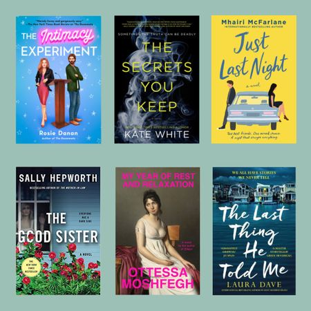 #PSBOOKREVIEW  Had to DNF a few books to make it to my latest 6 reads. Hope you enjoy these reviews 😊   The Intimacy Experiment: Naomi has a sex positive start-up and used to be a performer in the adult entertainment industry. She is trying to extend her platform when a rabbi express interest in her work. It doesn't help that she's really attracted to him. 3.5⭐️   ————————————————————  The Secrets You Keep: Bryn is an accomplished author going through a bit of a rough patch after an accident that killed her colleague. Her new husband seems to be losing patience with her and a woman she met briefly was murdered and she's somehow involved in this mess. 3⭐️  ————————————————————  Just Last Night: After a night out with her group of friends, Eve is distraught. She's been in love with Ed that just got engaged. She wakes up the next day to even worse news. Her world starts to unravel and she starts questioning her friendships. 5⭐️  ————————————————————  The Good Sister: Fern is a bit odd and a librarian. She had an unconventional  childhood and highly rely on her twin sister Rose. When Rose has trouble getting pregnant, Fern is determined to help, causing a series of events that dig up some dark secrets from the past. 4 ⭐️  ————————————————————  My Year of Rest and Relaxation: The protagonist in this book is determined to sleep through the year with the help of several drugs. This book was bizarre in the best way possible. 4 ⭐️  ————————————————————  The Last Thing He Told Me: Hannah has been married to Owen for a year when he disappears leaving behind a pile of cash and a message to his wife, telling her to protect his daughter. 4 ⭐️  ————————————————————  All books available via LINK IN BIO.   If you have any recommendations please do share 😊  http://liketk.it/3fDFl #liketkit @liketoknow.it