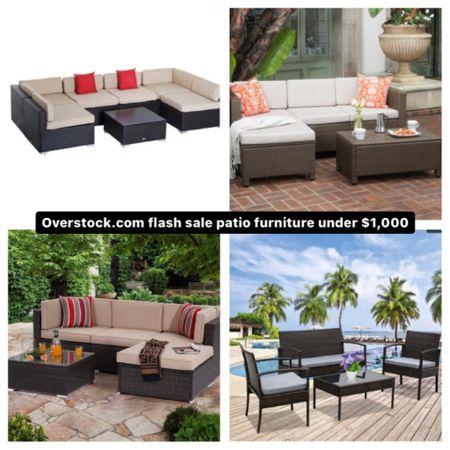 Overstock flash sale patio furniture  SALE ALERT http://liketk.it/3e6lu #liketkit @liketoknow.it #LTKsalealert #LTKhome
