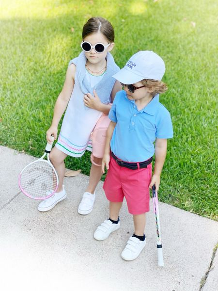 Geared up for tennis camp! This kids are loving their new outfits from Bella Bliss. Linking exact outfits below.   #LTKkids #LTKunder100 #LTKfit