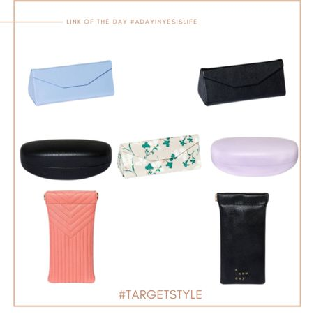 Found the cutest glasses case @target yesterday & I thought to myself I'd share a few others I found cute too (I snatched myself a foldable/collapsible black one) — but here are a few of my fave + they're under $10 🎯✨ : http://liketk.it/39z6P #liketkit @liketoknow.it #LTKstyletip #LTKunder50 #LTKunder100