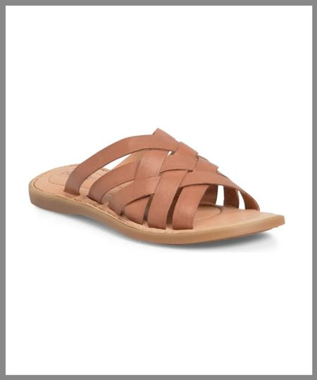 Leather sandals in the Nordstrom anniversary sale. Great for support and long wearing. There are two color choices nude/light brown sandals, or white leather.   #LTKSeasonal #LTKsalealert #LTKshoecrush