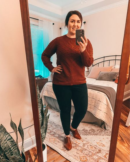 I love breaking out this sweater every year.  It is old and I will find similar options & link them.  💕   #LTKSeasonal #LTKfit