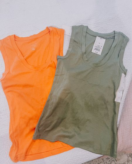 Target Tuesday! Found these awesome basic tank tops in lots of colors for $5! http://liketk.it/39z49 #liketkit @liketoknow.it