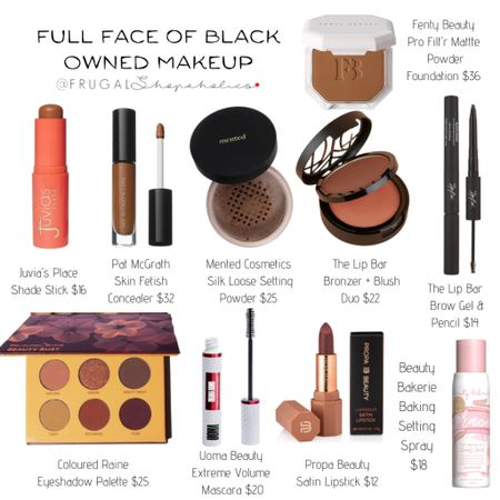 It's all black everything this month! Check out this full makeup routine featuring only black owned brands. What is your fav black owned makeup brand?  Shop the items in this post with the @liketoknow.it app or on our 'Shop Instagram' page. {CH 👸🏾}   Direct Link:   http://liketk.it/386Kz #liketkit
