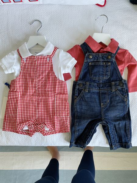 Baby boy, preppy baby boy outfit, apple picking outfit, overalls   #LTKfamily #LTKbaby #LTKunder50