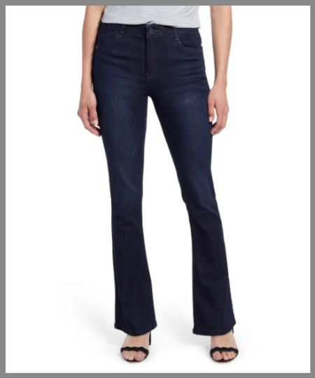 High-waisted dark wash jeans in the Nordstrom anniversary sale. Denim pants.   #LTKunder50 #LTKsalealert #LTKunder100