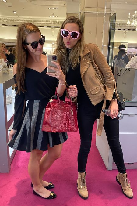 Can we talk about these #Balenciaga sunnies? So chic! #dynasty #madeinitaly #harrods #shoppingday