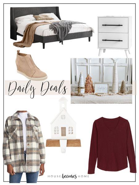 Daily Deals!!!  Home decor, Christmas decor, stocking holders, bedroom decor, nightstands, Wayfair, Target, old Navy, Nordstrom, ootd, sales, affordable    #LTKhome #LTKstyletip #LTKsalealert
