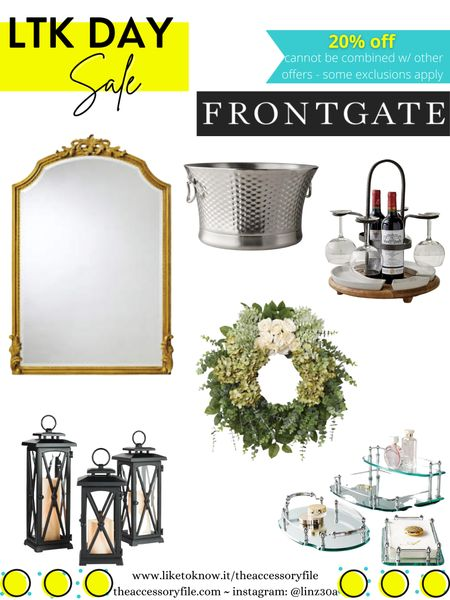 Frontgate 20% off - pool float, pool accessories, patio furniture, bathroom fixtures, home decor, wreath, mirror, lanterns, wine caddy, for the home, towels, bedding, bed and bath    http://liketk.it/3hhAG #liketkit @liketoknow.it #LTKDay #LTKhome #LTKsalealert