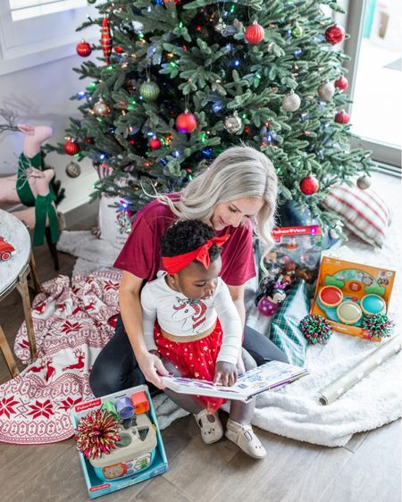 Just look at her little finger pointing at the book 😍😭😍 how could I not cave and give her a sneak peak at a few of her Christmas gifts!?? Sharing some of the best gifts for baby and toddlers at fab price points! #liketkit @liketoknow.it #LTKbaby #LTKfamily #LTKbump #LTKkids #LTKsalealert #LTKunder50 #LTKunder100 http://liketk.it/30Oez