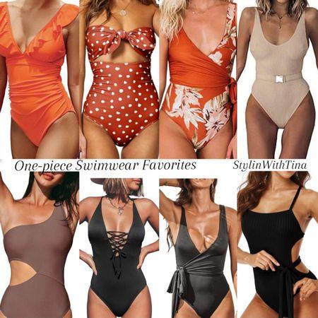 One piece swimwear, all under $30. Great deals, cute amazon swimsuits.  #amazonswim#amazonfinds#swimsuit #deals#summerlooks#vacationwear #beachlooks#summerlooks#swimwear #onepieceswim http://liketk.it/3gA7s #LTKsalealert #LTKstyletip #LTKunder50 #LTKunder100 #LTKcurves #LTKtravel #LTKDay @liketoknow.it #liketkit