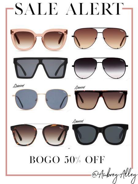 BOGO 50% off Quay sunglasses 😎   #LTKsalealert #LTKunder100 #LTKunder50