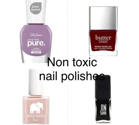 Nontoxic Nail polishes   #LTKwedding #LTKSeasonal #LTKHoliday