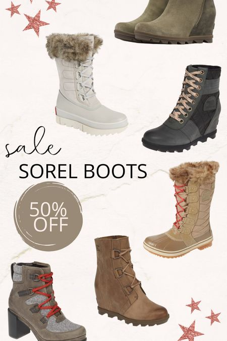 Sorel boots on sale!
