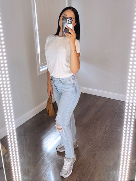 Hurry and get these $18 jeans from walmart before they sell out. I'm wearing size 5 😍😍😍😍😍😍   #LTKbacktoschool #LTKunder50 #LTKstyletip