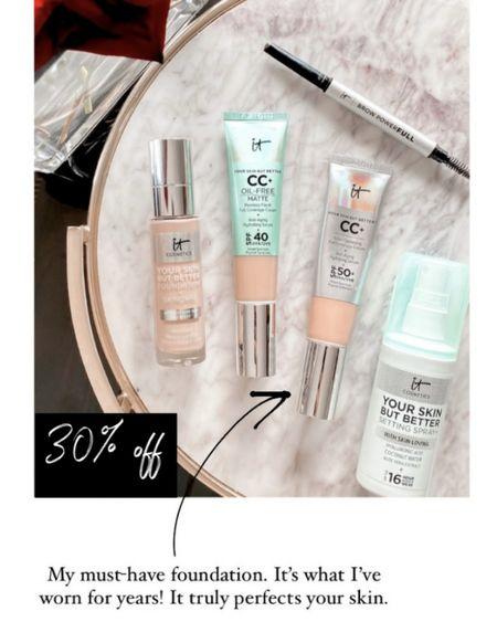 It cosmetics sale!! The CC cream is something I wear EVERY Day   #LTKbeauty #LTKSale #LTKunder100   http://liketk.it/3oebJ @liketoknow.it #liketkit