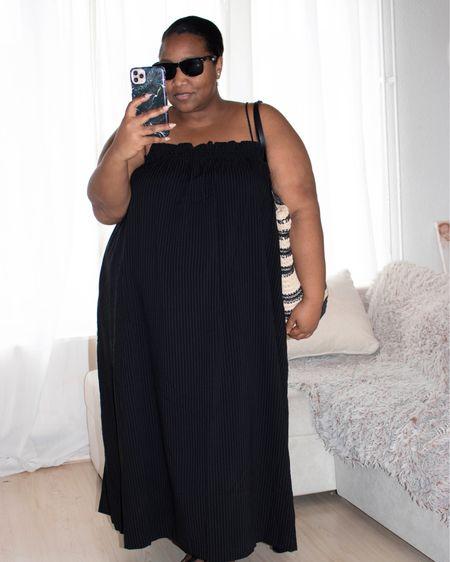 http://liketk.it/3gJ8s @liketoknow.it.family Plus Size spring/summer style, black dress, jeans jacket, birkenstock #plussize http://liketk.it/3dj7D #liketkit @liketoknow.it #LTKcurves #LTKstyletip #LTKunder50 @liketoknow.it.europe