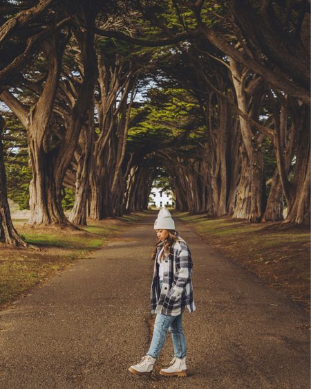 One of my favorite escapes is a day trip to Point Reyes National Seashore. The pennisula is packed with so many sights: beaches, lighthouse, swampland, epic cliffs, and the infamous Cypress Tree Tunnel. Have you been?   // #liketkit @liketoknow.it http://liketk.it/36SNF #LTKsalealert #LTKshoecrush #LTKunder100
