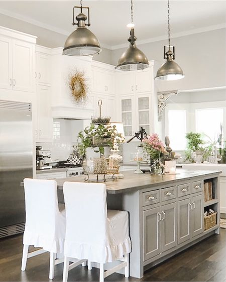 . Farmhouse kitchen inspiration!   #StayHomeWithLTK #LTKhome #liketkit @liketoknow.it.home @liketoknow.it     Follow me on the LIKEtoKNOW.it shopping app to get the product details for this look and others http://liketk.it/30VJD