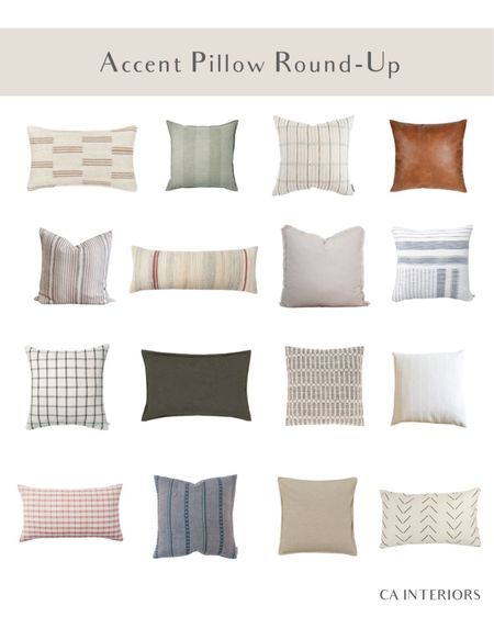 The best and quickest way to change up the look of your room, accent pillows! http://liketk.it/3gNLO #liketkit @liketoknow.it #LTKfamily #LTKhome #LTKstyletip