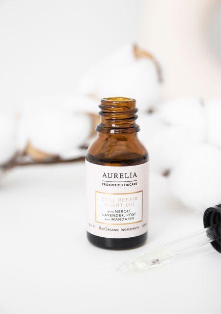 Aurelia Probiotic Skincare Cell Repair Night Oil - smells divine and nourishes the skin 🌙   #LTKunder100 #LTKbeauty #LTKhome